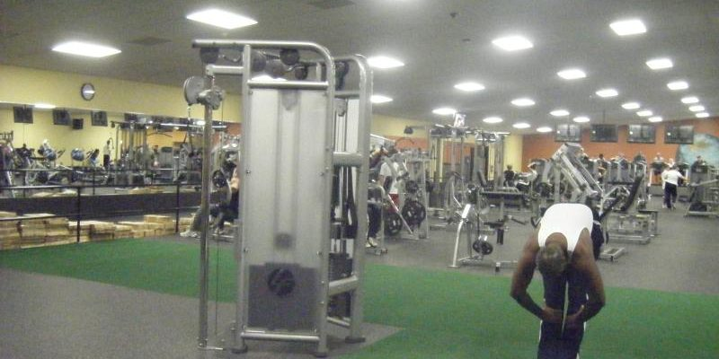 world gym owings md photo