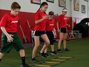 Parisi's focuses strongly on building character and confidence through athletics!