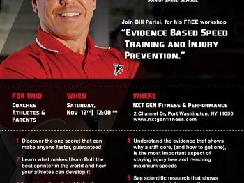Speed Training and Injury Prevention Workshop