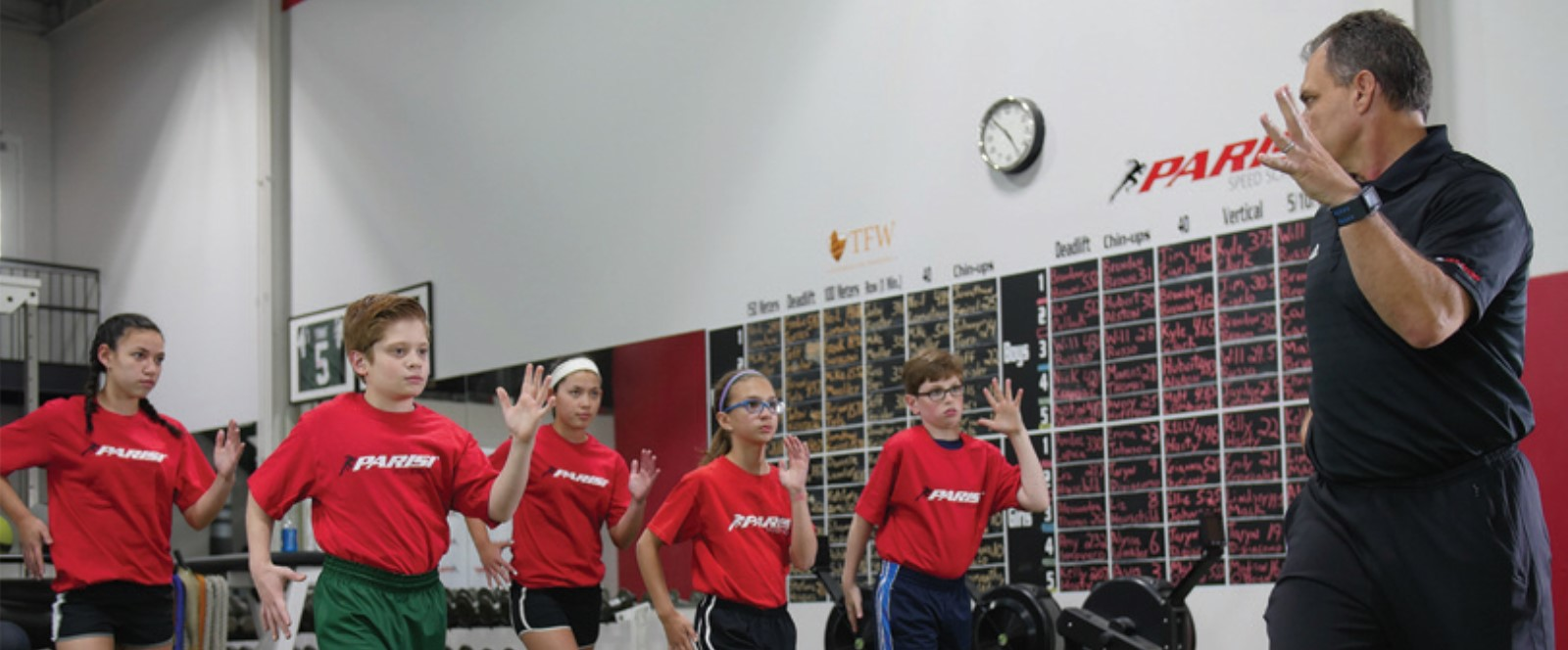 Parisi Schererville - Youth Training System - Training That