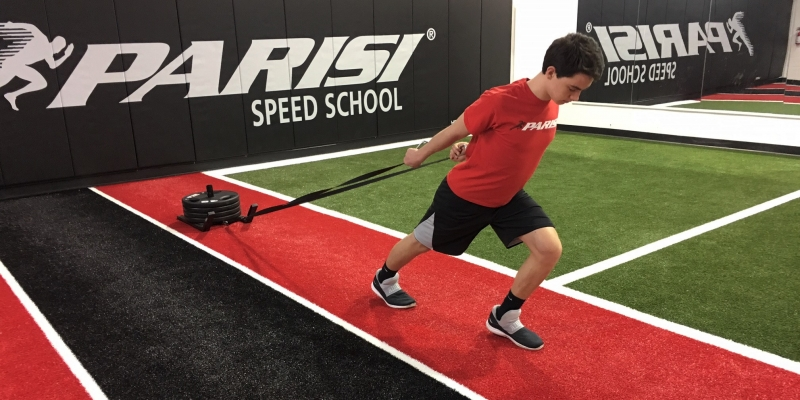 Improving Football Speed - Parisi Speed School