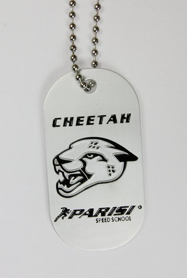 Cheetah Cat Tag