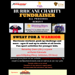 Sweat For A Warrior – Fundraiser event with Shining Star Foundation