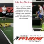 July Athlete Of The Month – Ray Martinez