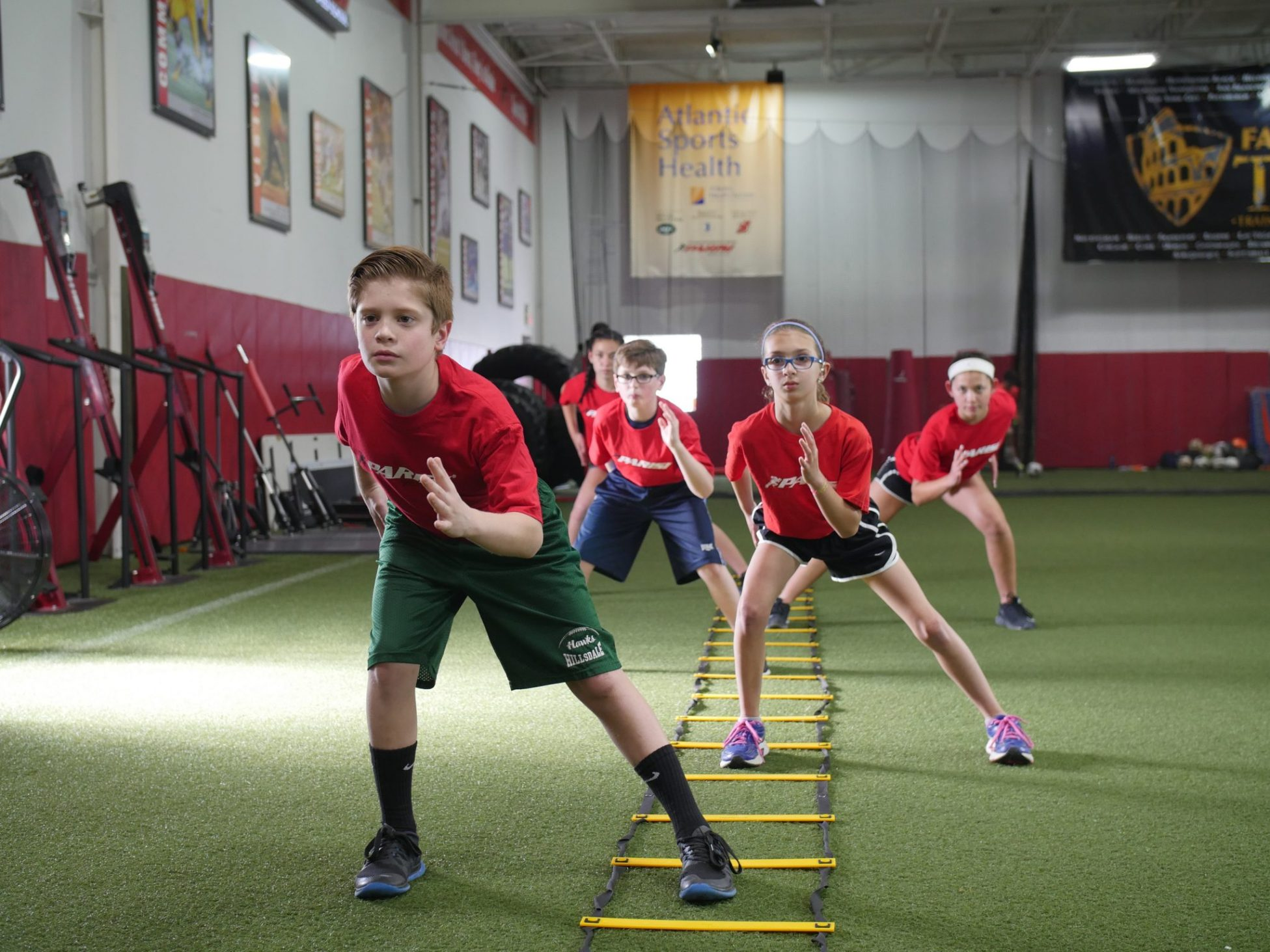 Youth Sports Training System - Parisi Speed School