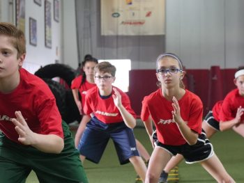 Our programs focus on building character and confidence through athletics!