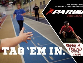 September is the most important month to bring your friends into the Parisi Speed School!