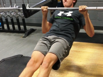 Row Variation: BB Inverted Row