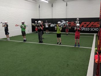 First Day Of Lacrosse Camp – Speed and Power, and Face Off clinic