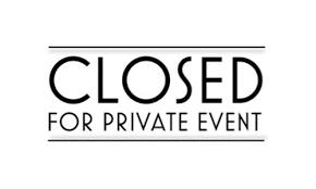 Closure Due to Private Event