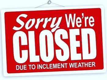 WE'RE CLOSED TODAY!!