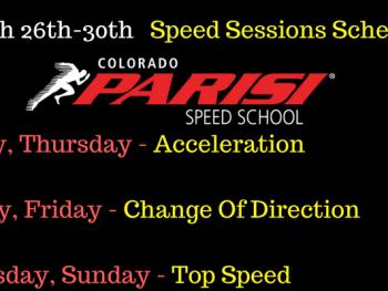 March 26th week schedule