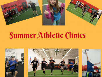 Last week for early bird pricing on Athletic Summer Camps