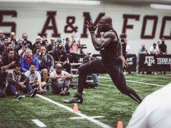 Parisi Athlete Keith Ford's Outstanding Pro Day Performance
