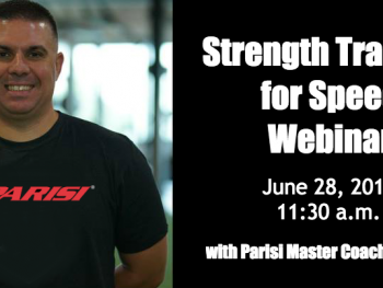 Strength Training for Speed Webinar with Steve Leo