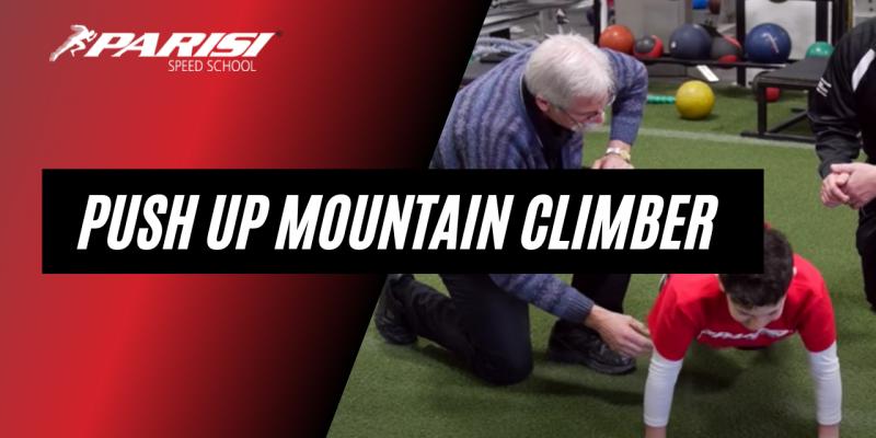push up mountain climber